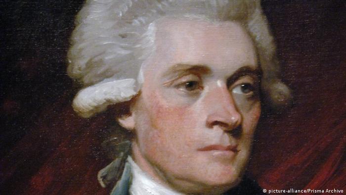 Третій президент США Томас Джефферсон