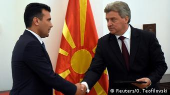 Ο Ζ. Ζάεφ θέλει να κερδίσει και τον πρόεδρο Ιβάνοφ για τη λύση στου ονοματολογικού