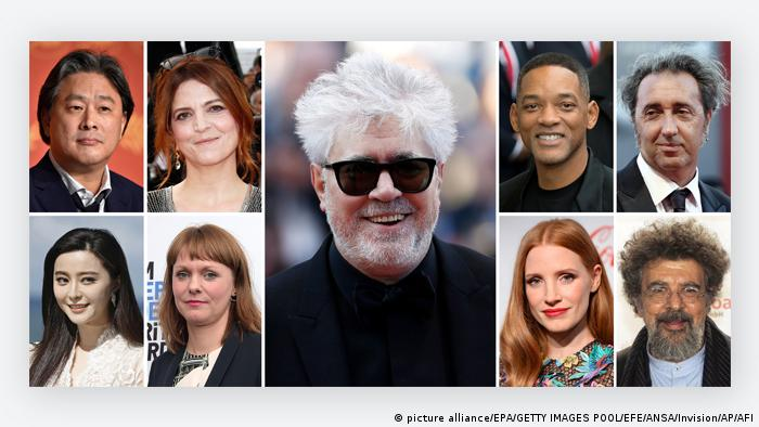 Frankreich Jury der 70. Filmfestspiele in Cannes (picture alliance/EPA/GETTY IMAGES POOL/EFE/ANSA/Invision/AP/AFI)