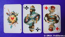 russische Spielkarten