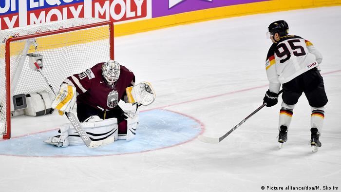 Eishockey-WM: Deutschland - Lettland (Picture alliance/dpa/M. Skolim)
