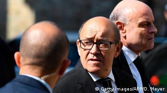Frankreich Regierungsbildung Jean-Yves Le Drian