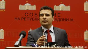 Zoran Zaev (Picture alliance/AP Photo/B. Grdanoski)