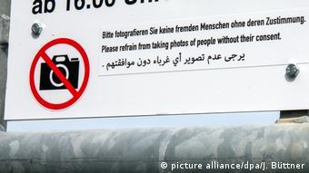 Deutschland Foto-Verbot
