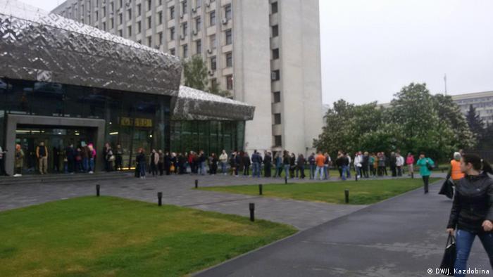 Очередь на подачу документов в сервисном центре Печерского района Киева