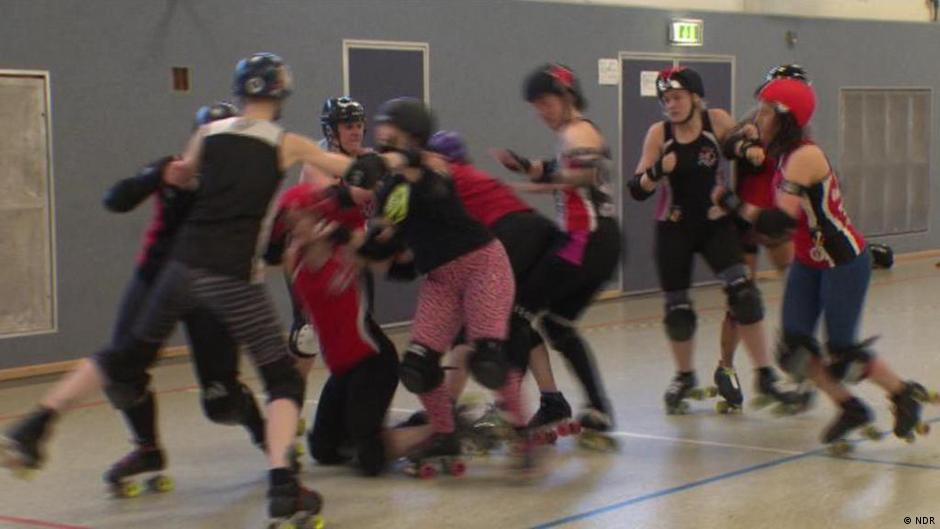 Roller Derby The Hamburg Harbor Girls Euromaxx Videos