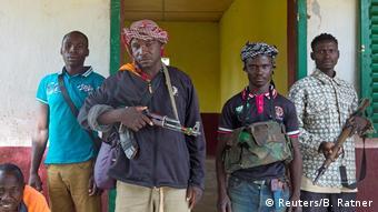 Des miliciens anti-balaka en avril 2018 (Archives)