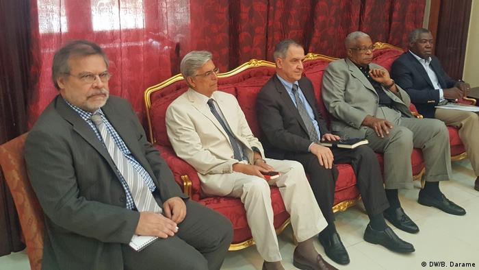 Guinea-Bissau José Mário Vaz trifft P5