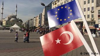 Türkei Stimmen aus Instanbul zu einem möglichen EU-Beitritt der Türkei (DW/J. Hahn)