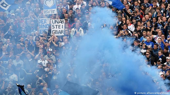 Fussball, 1. Bundesliga Saison 2014/2015 Relegation: Karlsruher SC - Hamburger SV (picture alliance/dpa/Ulmer)