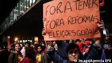 Brasilien Proteste gegen Präsident Temer 17.05.2017