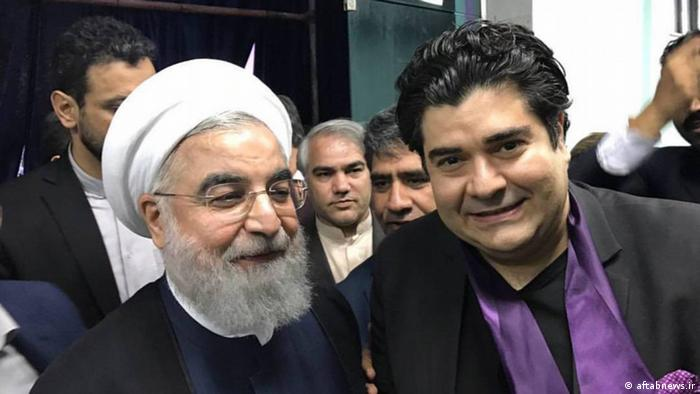 Iran Wahl Rohani Wahlkampagne (aftabnews.ir)