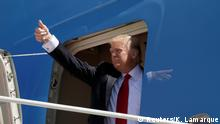 USA Donald Trump steigt in die Air Force One