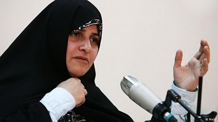 Iran Wahl Jamile Alam ol Hoda (Mehr)