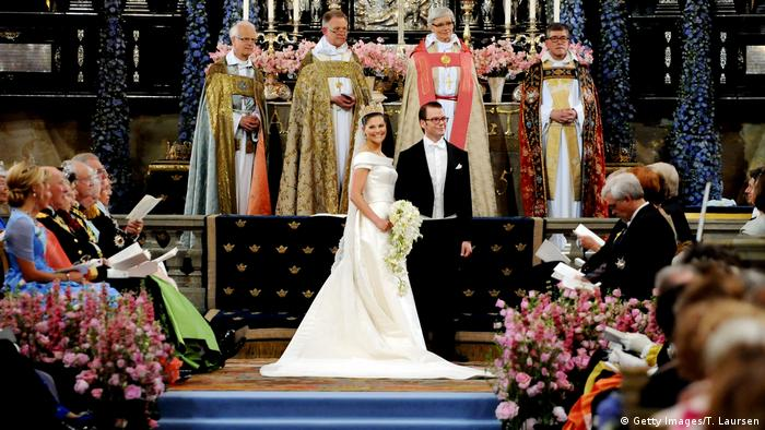 Swedish royals Victoria and Daniel's wedding (Getty Images/T. Laursen)