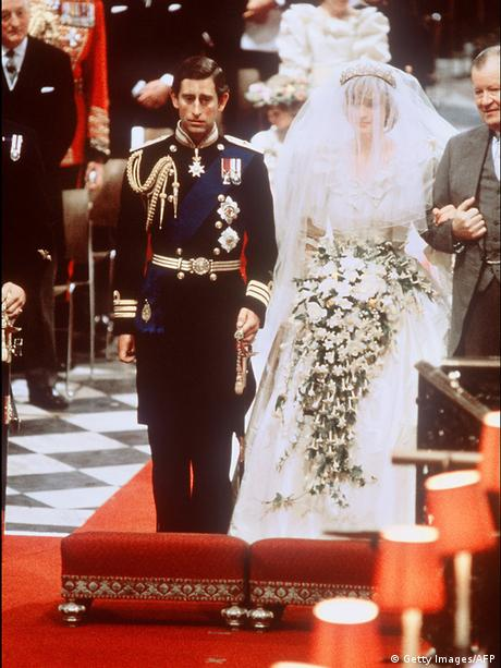 Promi Hochzeit Prince Charles und Lady Diana (Getty Images/AFP)