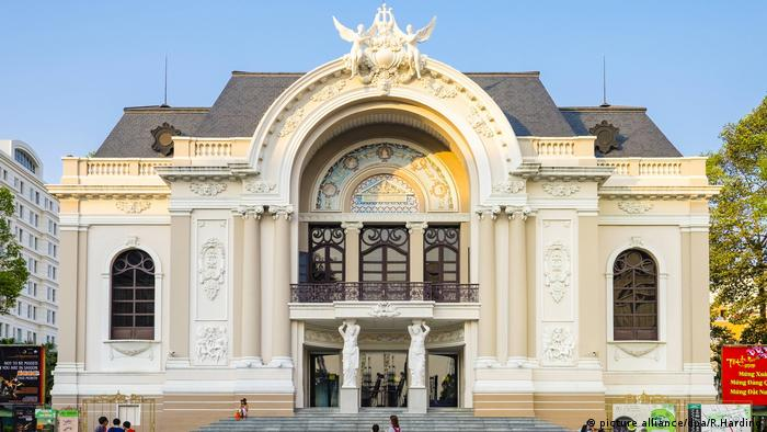 Vietnam Saigon Opera house