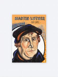 Buchcover Martin Luther Comic
