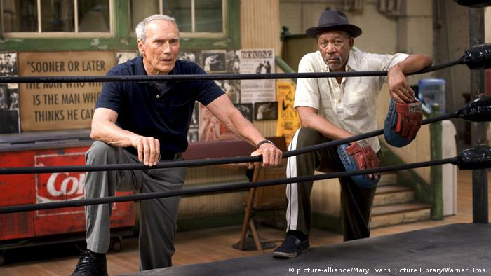 Filmstill Morgan Freeman in Million Dollar Baby (Foto: picture-alliance/Mary Evans Picture Library/Warner Bros.)
