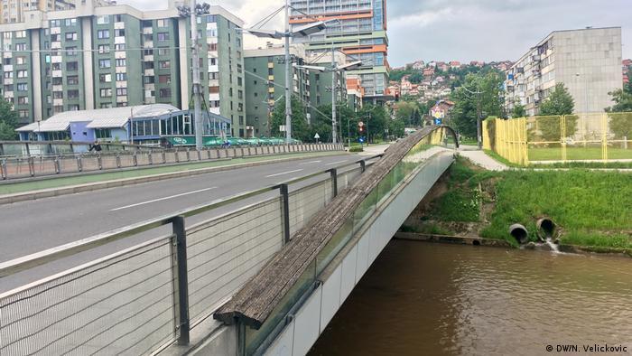Bosnien-Herzegowina Bosmalbrücke in Sarajevo