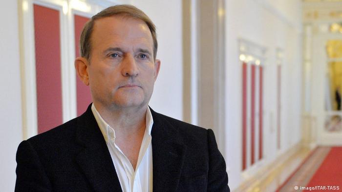 Украинский политик и бизнесмен Виктор Медведчук