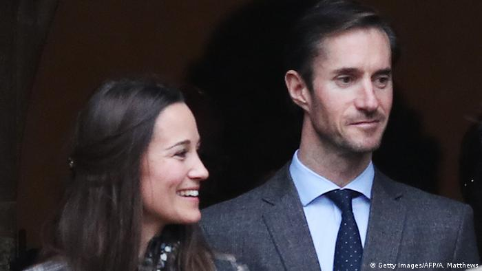 Pippa Middleton and James Matthews (Getty Images/AFP/A. Matthews)