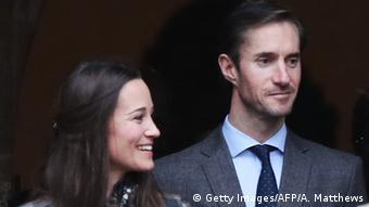 Großbritannien Pippa Middleton & James Matthews