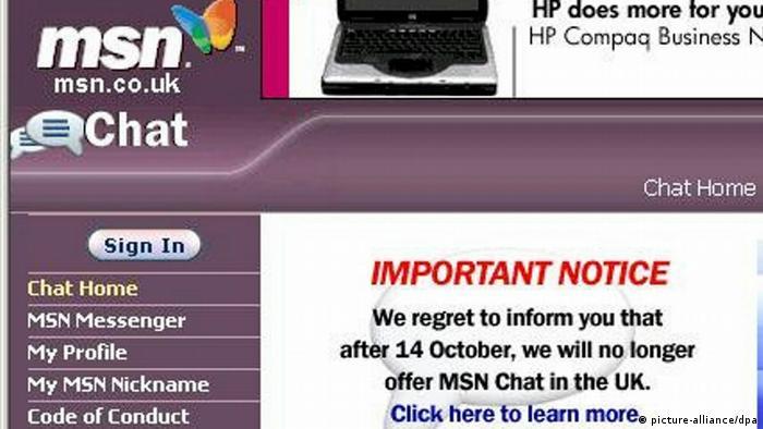 Internet - Microsoft MSN (picture-alliance/dpa)