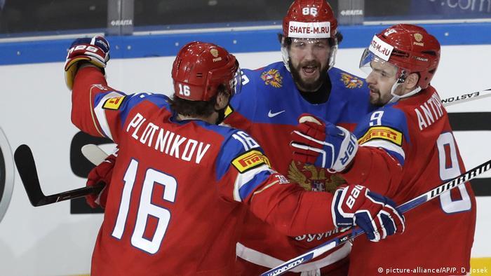 Eishockey-WM: Russland - Tschechien