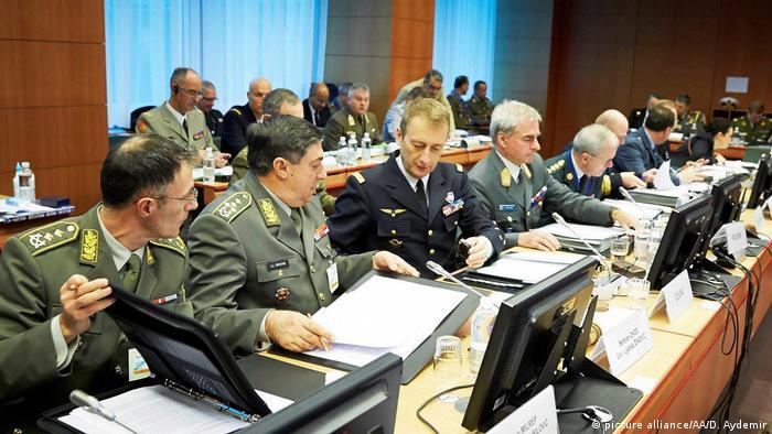 Военный комитет Евросоюза в Брюсселе (фото из архива)