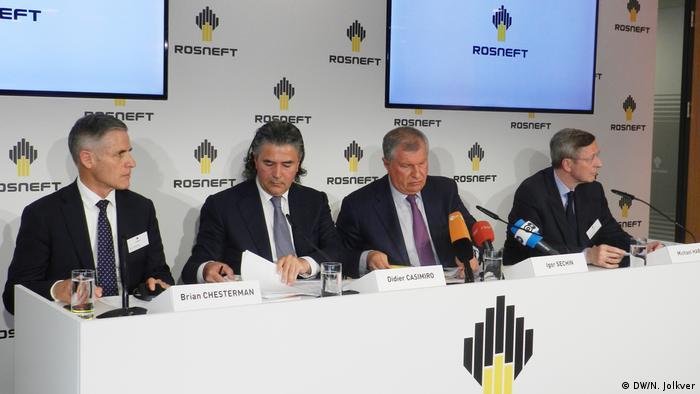 Firma Rosneft Deutschland GmbH