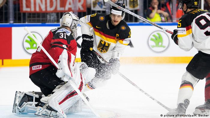 Eishockey-WM: Kanada - Deutschland (picture alliance/dpa/M. Becker)