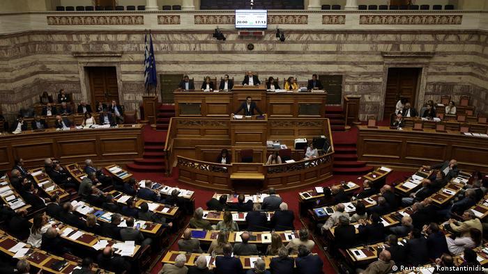 Griechisches Parlament billigt weitere Sparmaßnahmen