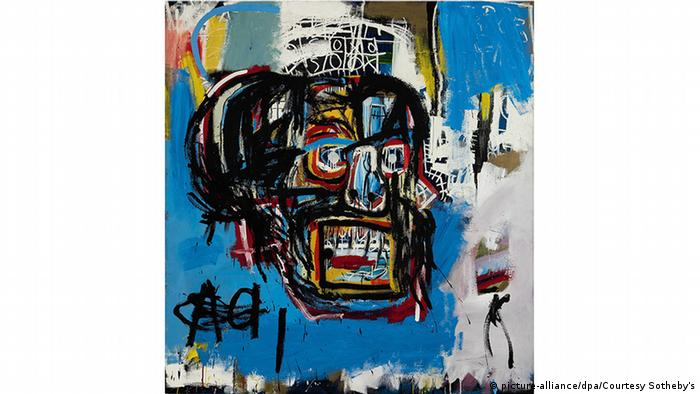 Gemälde Untitled von Jean-Michel Basquiat (picture-alliance/dpa/Courtesy Sotheby's)