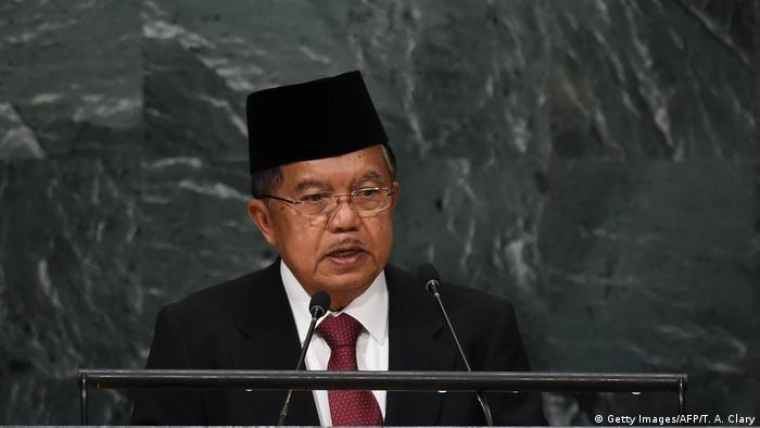 Muhammad Jusuf Kalla (Getty Images/AFP/T. A. Clary)