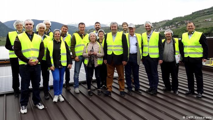 Reise von Vertretern griechischer Genossenschaften in Bayern und Südtirol (DW/P. Kouparanis)