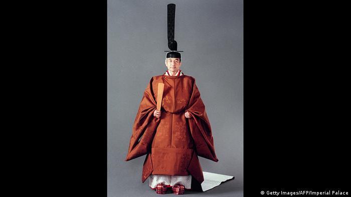 2. Bildergalerie Kaiser Akihito der beliebte Monarch dankt ab (Getty Images/AFP/Imperial Palace)