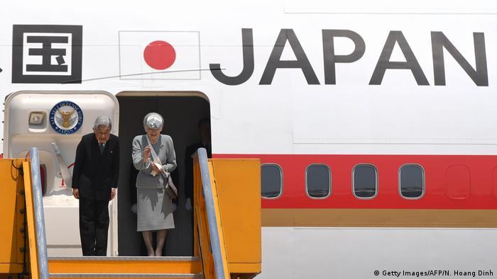 8. Bildergalerie Kaiser Akihito der beliebte Monarch dankt ab (Getty Images/AFP/N. Hoang Dinh)