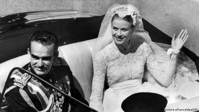 Fürst Rainier III. von Monaco und Grace Kelly (picture-alliance/dpa/UPI)