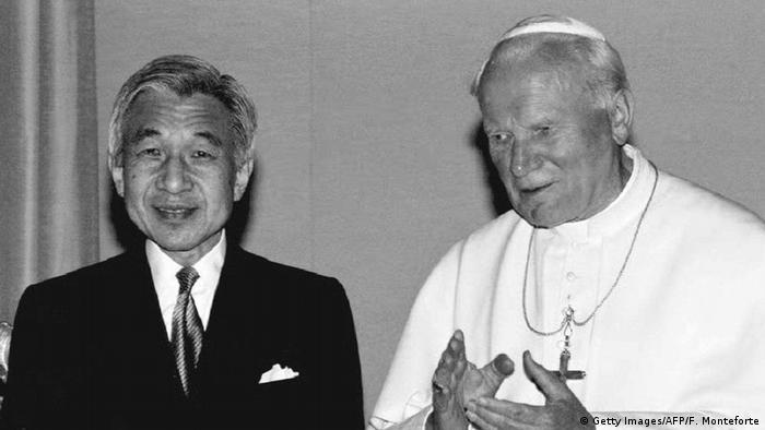 10. Bildergalerie Kaiser Akihito der beliebte Monarch dankt ab (Getty Images/AFP/F. Monteforte)
