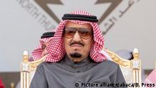 Saudi Arabien König Salman Bin Abdul Aziz Al Saud (Picture alliance/abaca/B. Press)