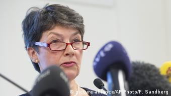 La fiscal sueca Marianne Ny.