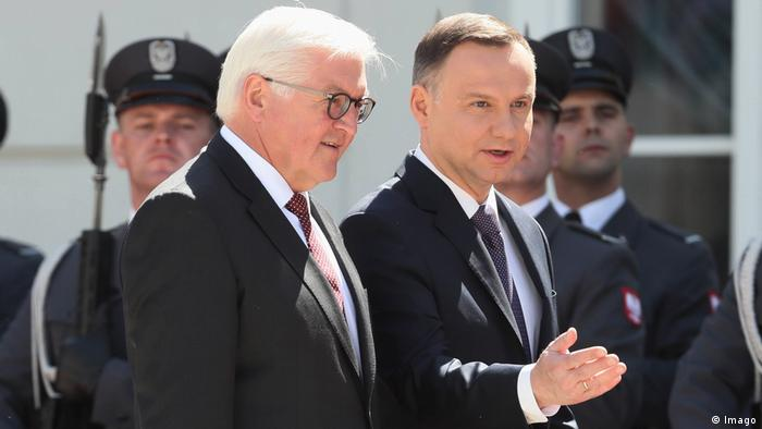 Frank-Walter Steinmeier in Polen Imago