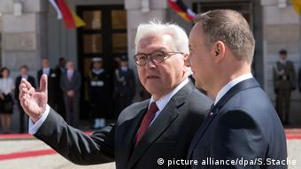 Bundespräsident Steinmeier in Polen (picture alliance/dpa/S.Stache)