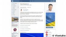 Ukraine Vkontakte Politik