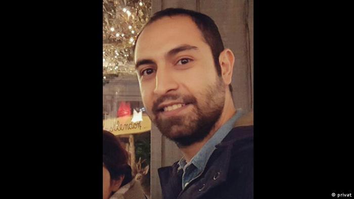 Zitatgeber für DW-Spezial Deutsches Grundgesetz Arash Fallahi, Iran (privat)