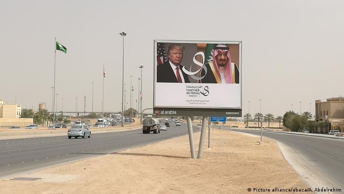 Vor dem Besuch des Präsidenten Donald Trump in Saudi-Arabien (Picture alliance/abaca/A. Abdelrehim)