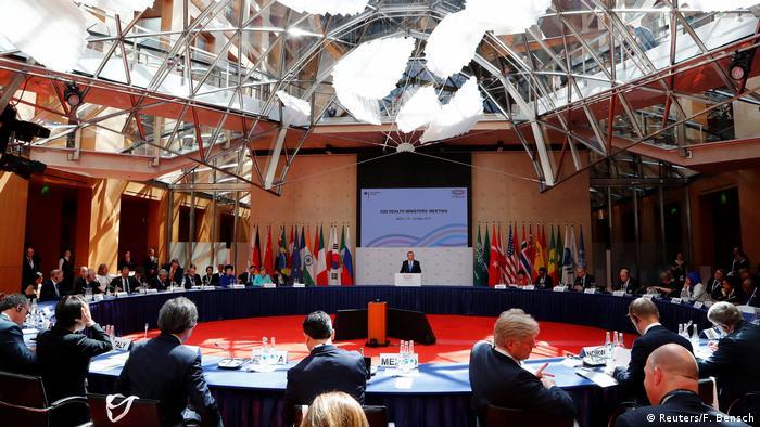 Deutschland Gröhe fordert von den G20 globale Zusammenarbeit gegen Gesundheitsgefahren. (Foto: Reuters/F. Bensch)