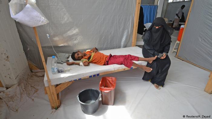 Jemen Hodeidah Cholera Ausbruch (Reuters/A. Zeyad)