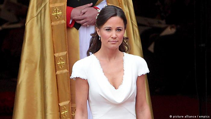 UK Pippa Middleton bei Kate Middletons Hochzeit (picture alliance / empics)